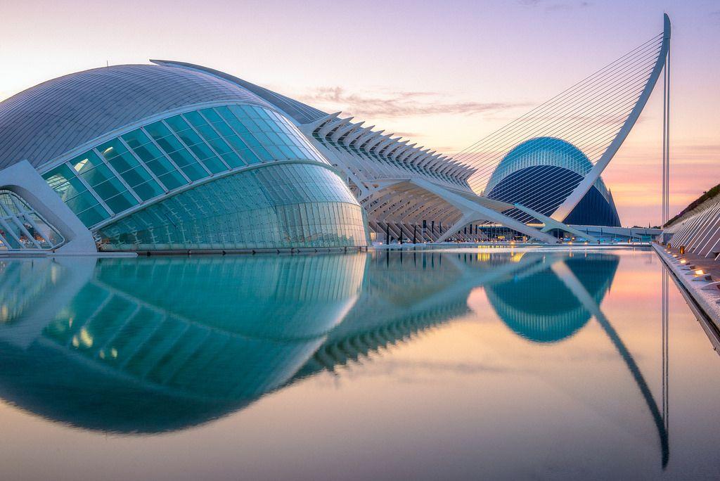 Ciudad De Las Artes Y De Las Ciencias Valencia Valencia City Planetarium Architecture