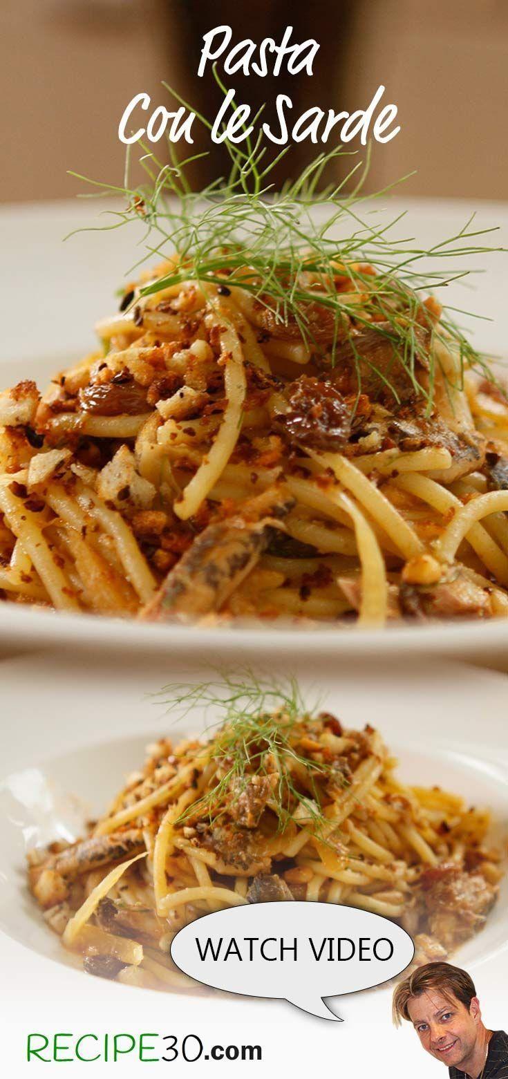 Sicilian Pasta Con Sarde Sardine and fennel pasta dish A classic Sicilian pasta  Fooood