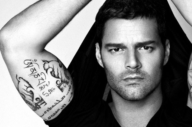 Ricky Martin To Fans Write My World Cup Song Ricky Martin World Cup Song Tattoos