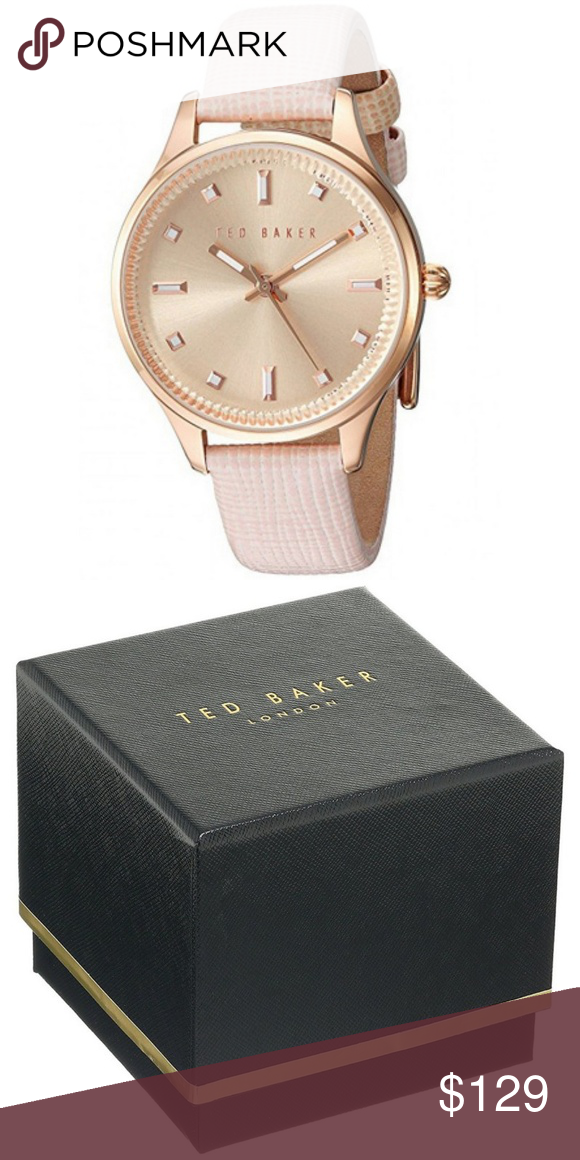 ca2320126 Ted Baker 10030743 Women s Pink Leather Band