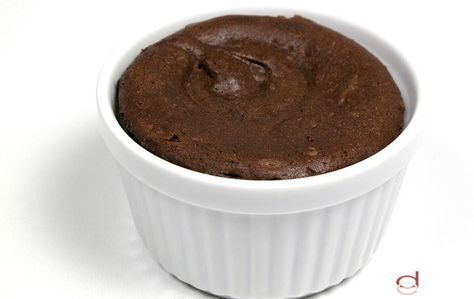 Mousse de chocolate Dukan | Postres de chocolate, Recetas ...