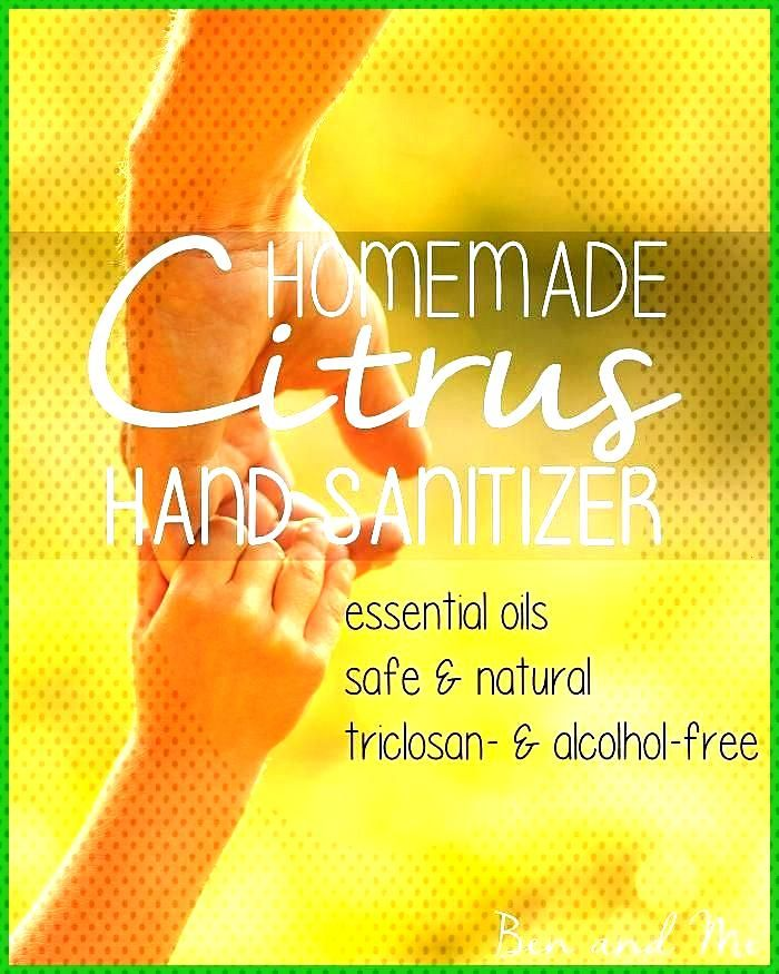 Homemade Hand Sanitizer and other uses for Lemon Essential Oil Lemon essential oil may be the most