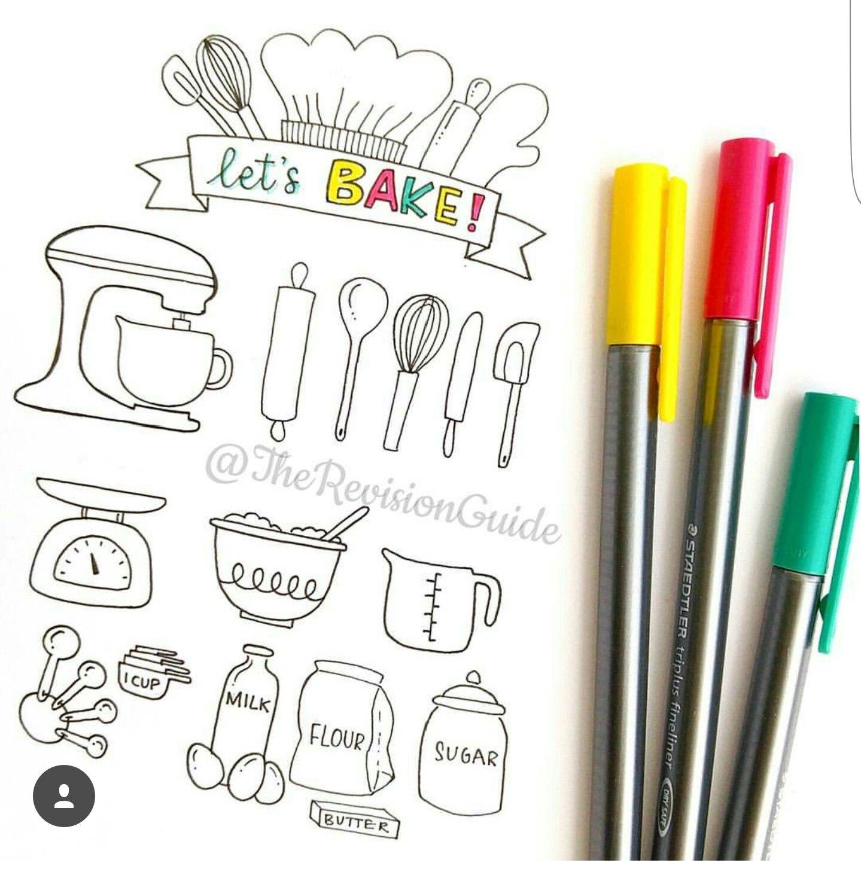 Image result for bullet journal baking ideas | Bujo | Pinterest ...