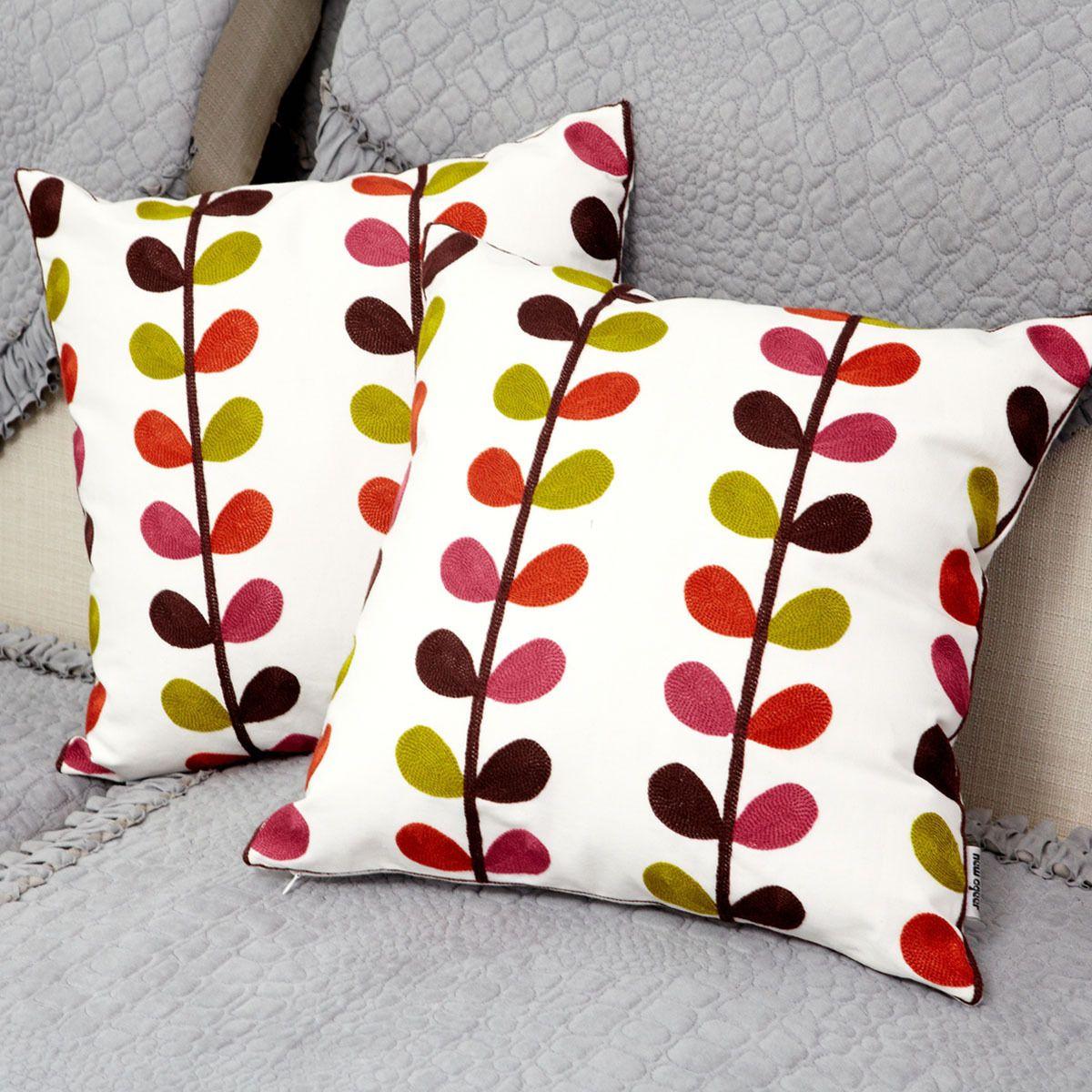 Cojines bordados la calidad del bordado hilo ofhead bolso for Cojines para sofas