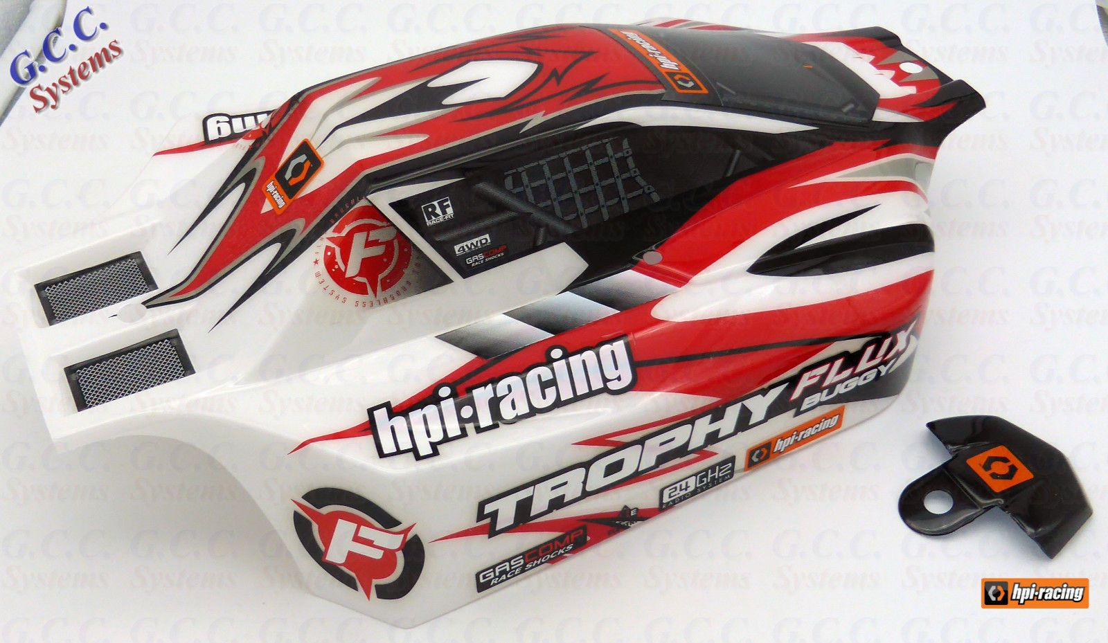 HPI Racing Trophy Buggy Flux Body Shell Painted & Trimmed