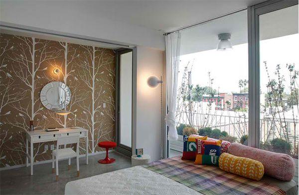 wandtapeten muster - 20 inspirierende wandgestaltung ideen fürs, Wohnideen design