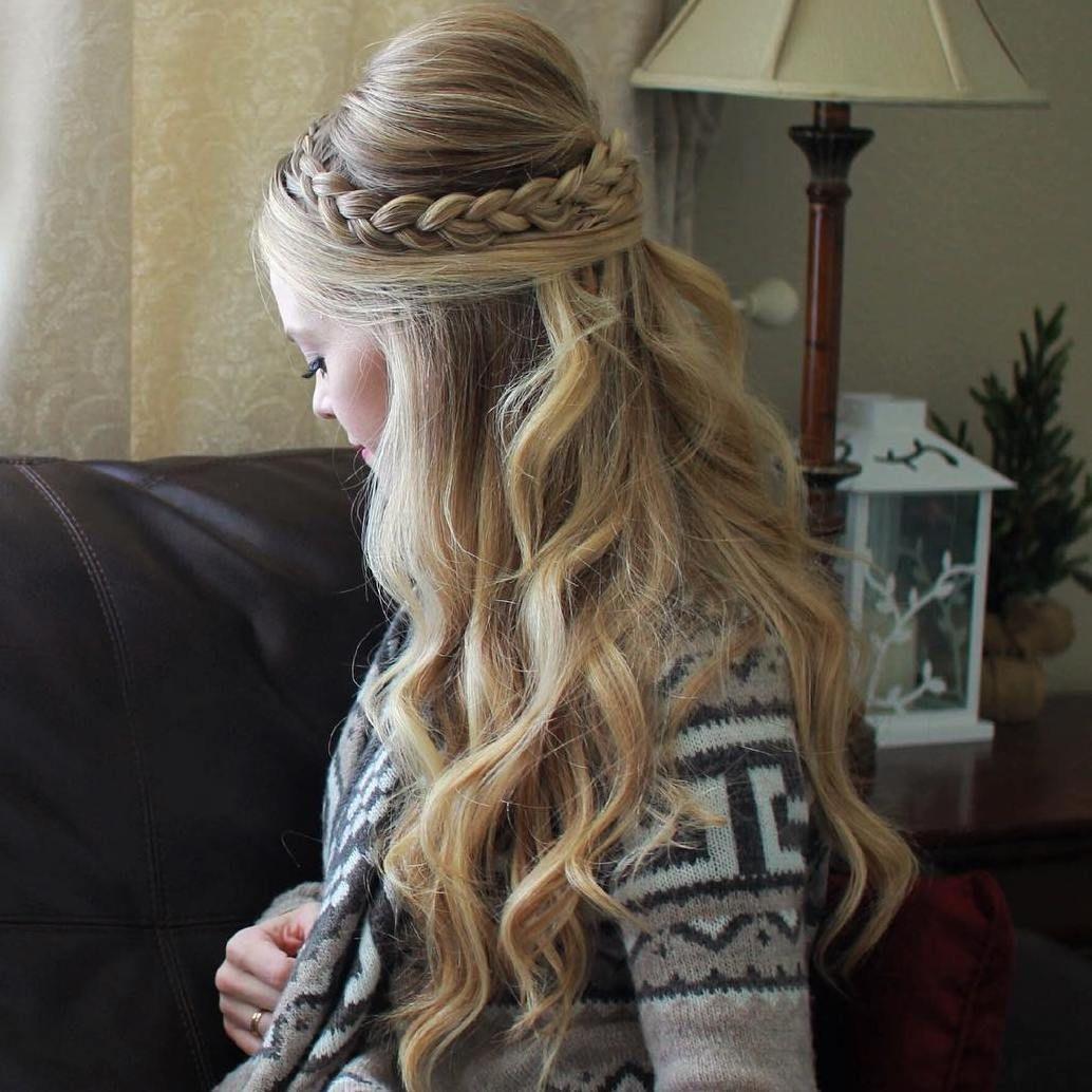 Hairstyles Long Hair Bump Braid Koees Answer Hair Styles Long Thick Hair Thick Hair Styles