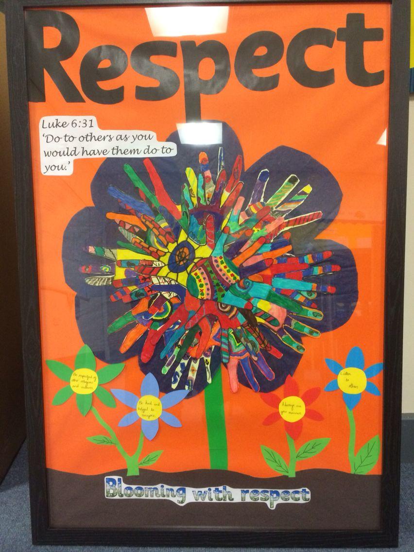 Respect classroom display | Door Decoration | Pinterest ...