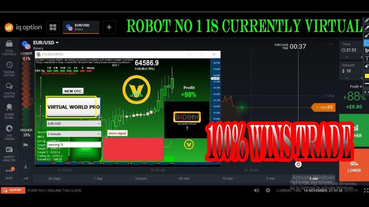 Virtual World Pro Bot Virtual Virtual World Binary