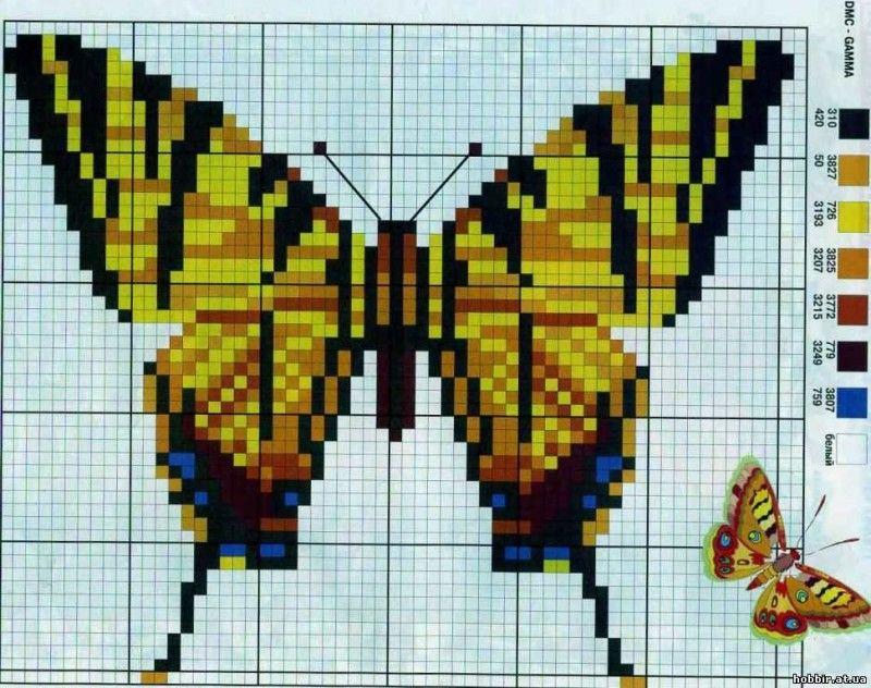 Бабочка-символ семейного счастья