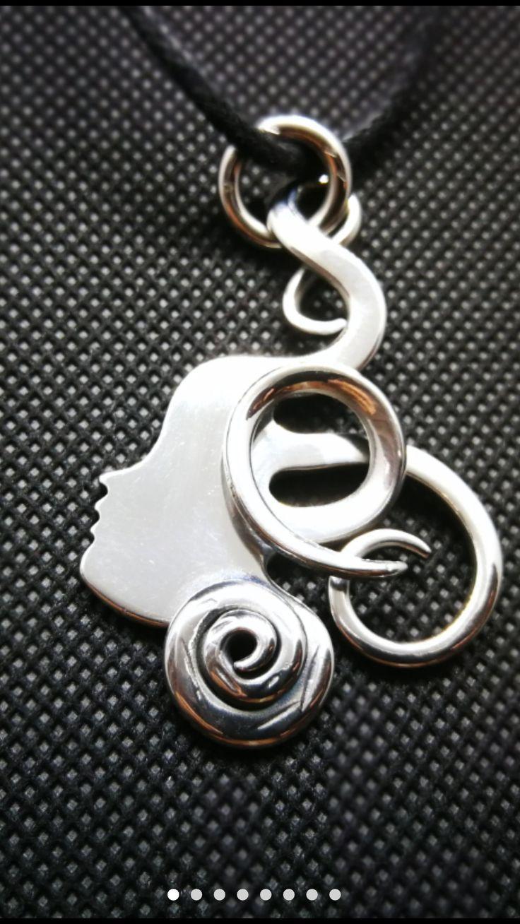 CS-DB Jewelry Silver Loving Nest Long Chain Charm Pendants Necklaces
