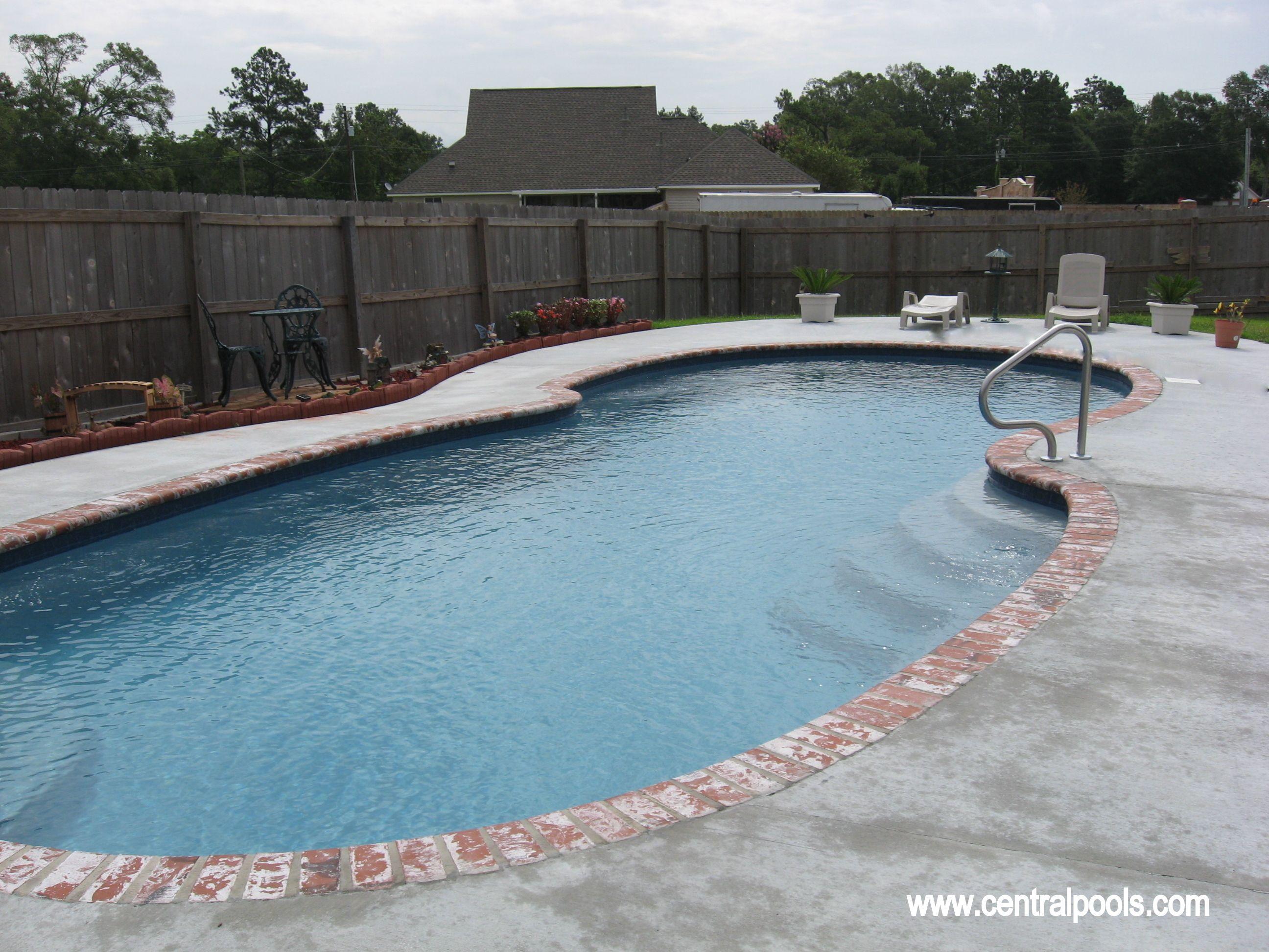 Central Pools Inc Fiberglass Swimming Pool Swimming Pools Pinterest