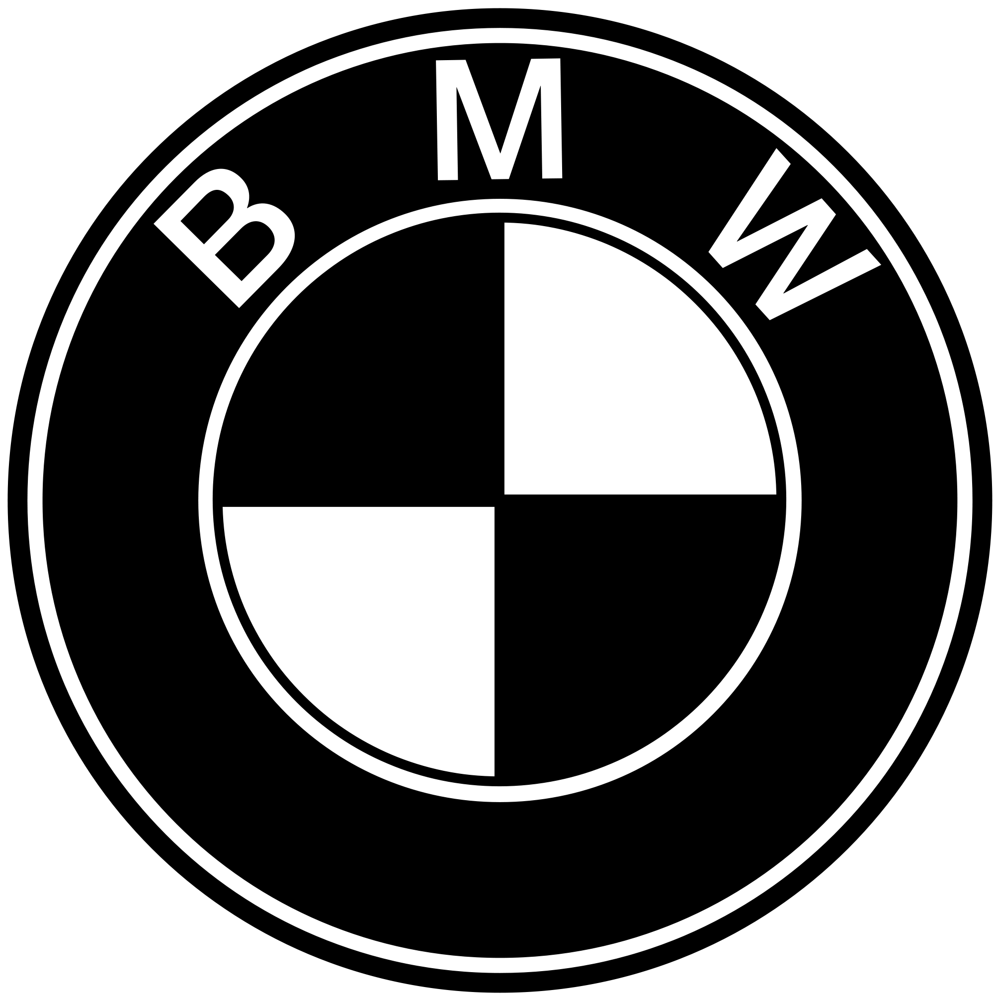 Bmw Logo Decal Google Search Bmw Logo