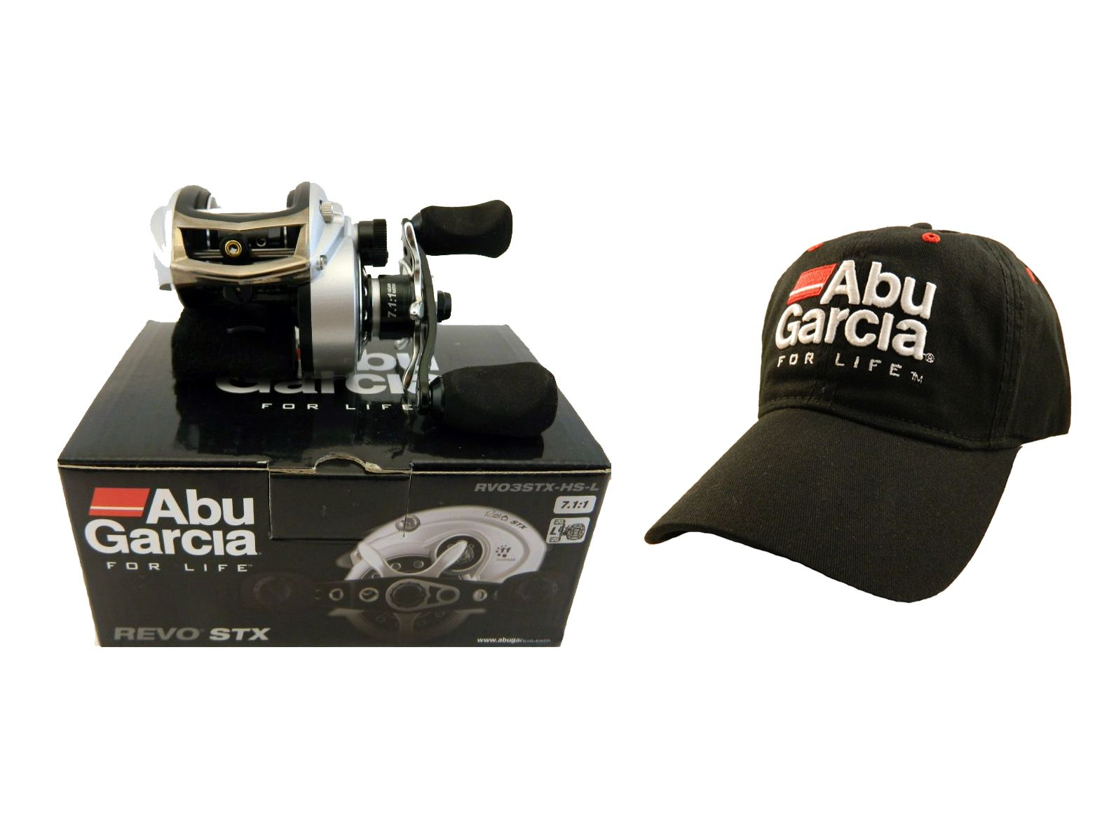 We are currently offering a Free Abu Garcia Cap shipped in