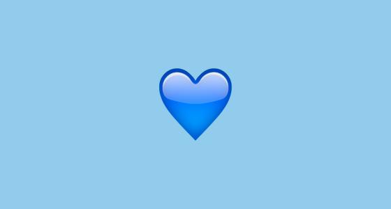 Blue Heart Emoji Blue Heart Emoji Blue Heart Emoji Meaning Emoji Wallpaper