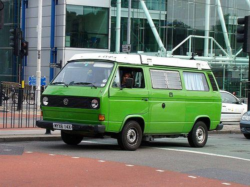 Green Vw Camper Vw Camper Roof Extension Campervan