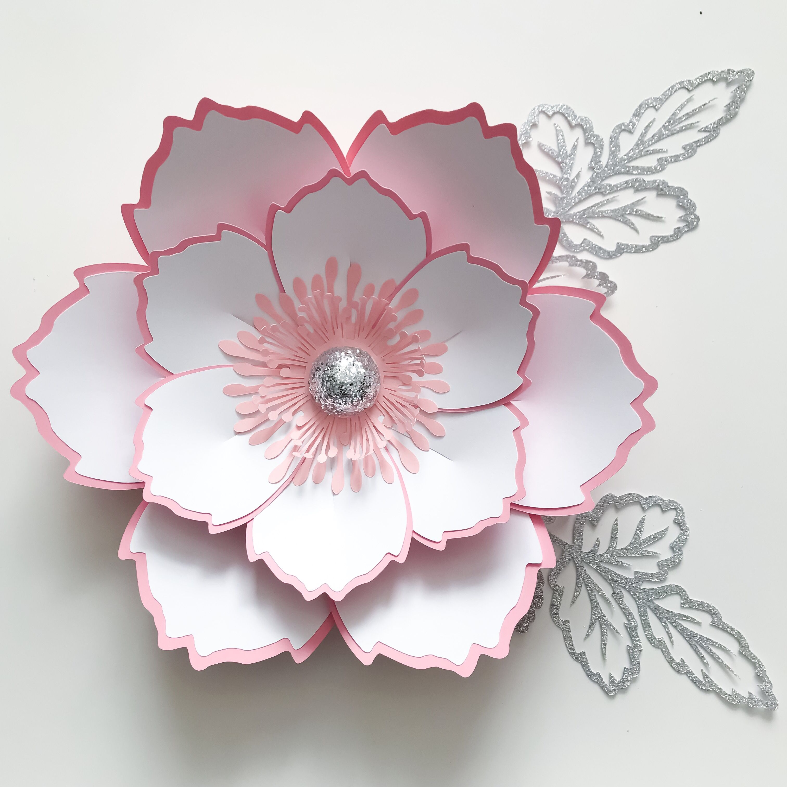 Heres A New Paper Flower Template From The Crafty Sagittarius