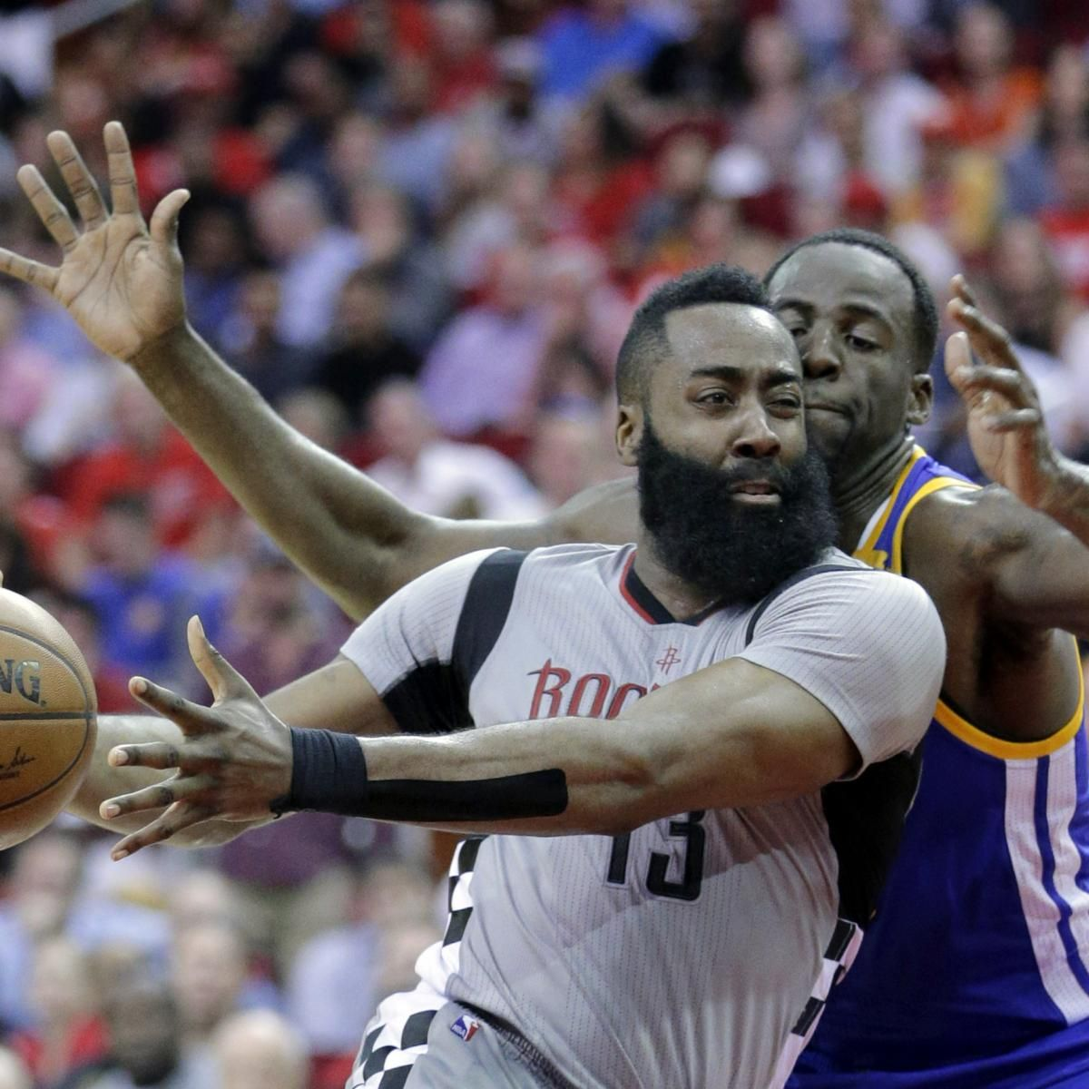 Draymond Green Admits to Punching James Harden in Injured Wrist | Bleacher Report