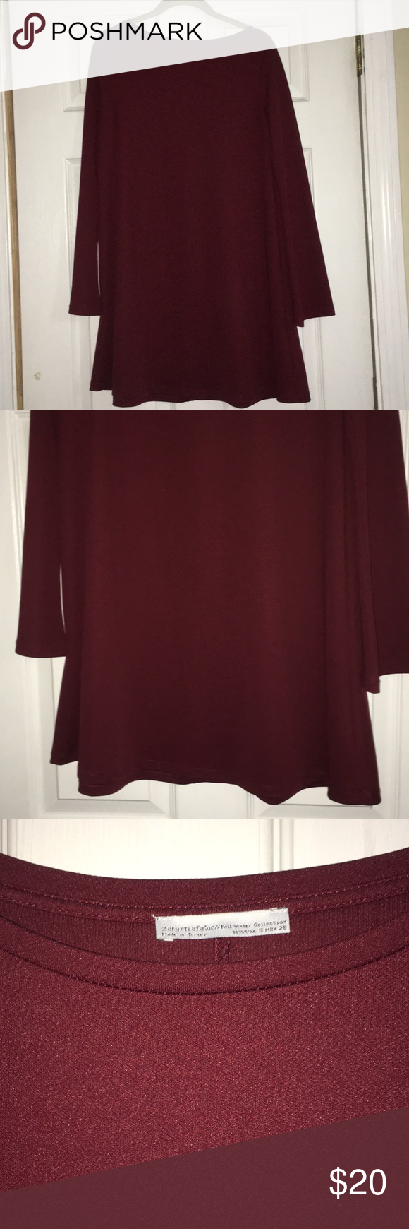 Zara trafaluc dress trafaluc zara dress used once zara dresses long