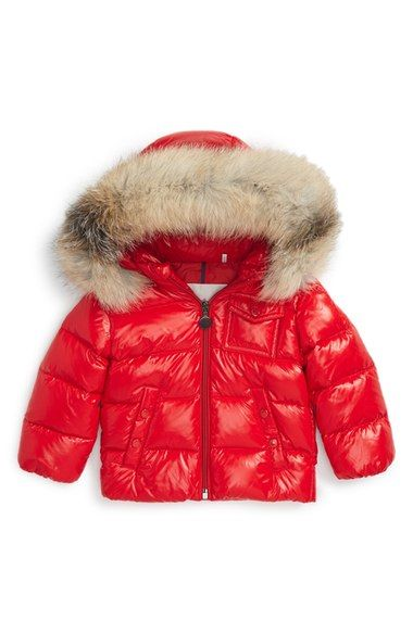 6b5873c07 Moncler  K2  Hooded Down Jacket with Genuine Fox Fur Trim (Baby Boys ...