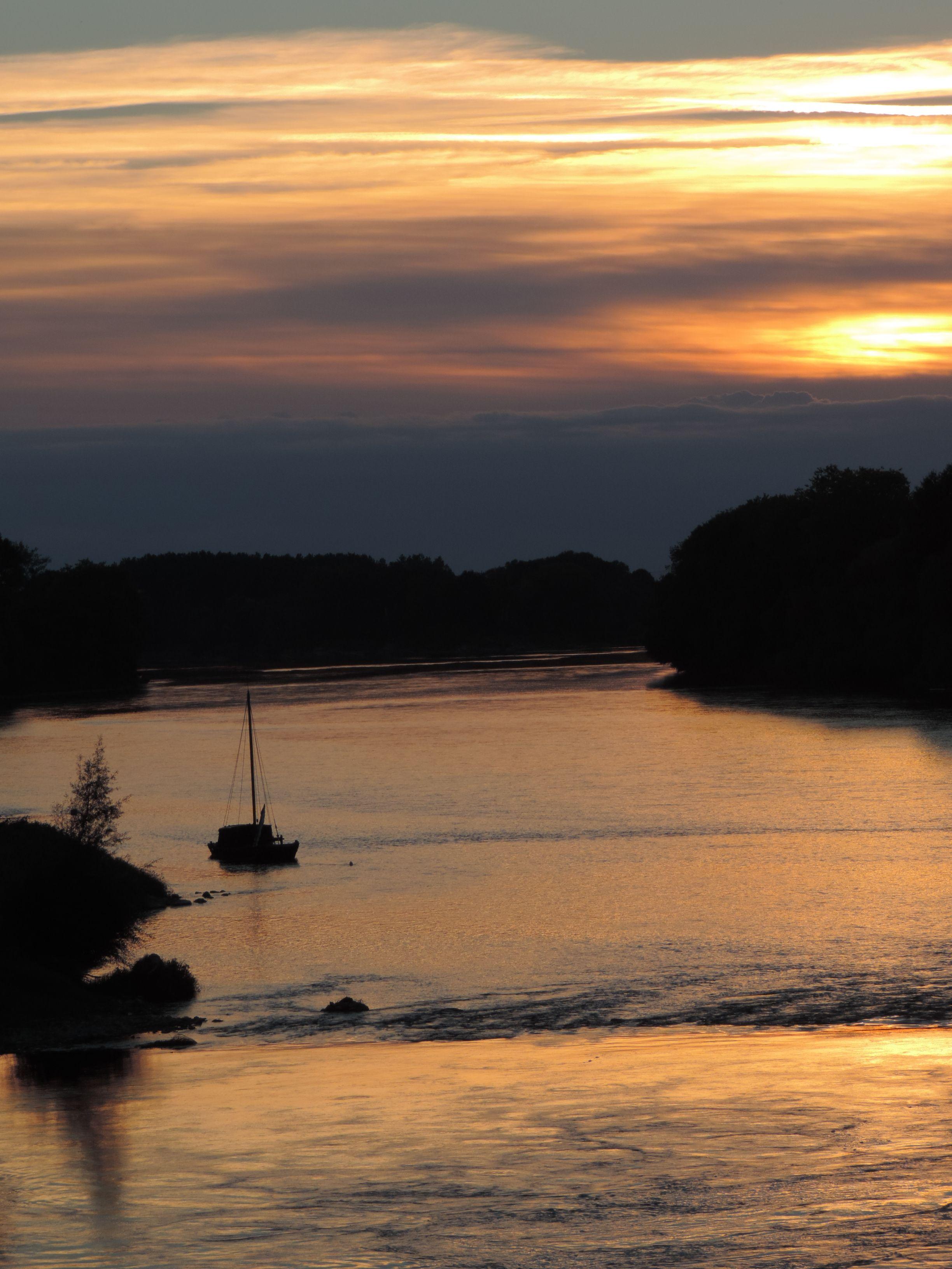 Derniers feux sur la Loire aux Ponts de Cé 18/09/16
