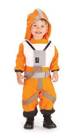 ## VERY Cute ##: Rubie's Costume Co Star Wars Romper And Headpiece X-Wing Fighter Pilot