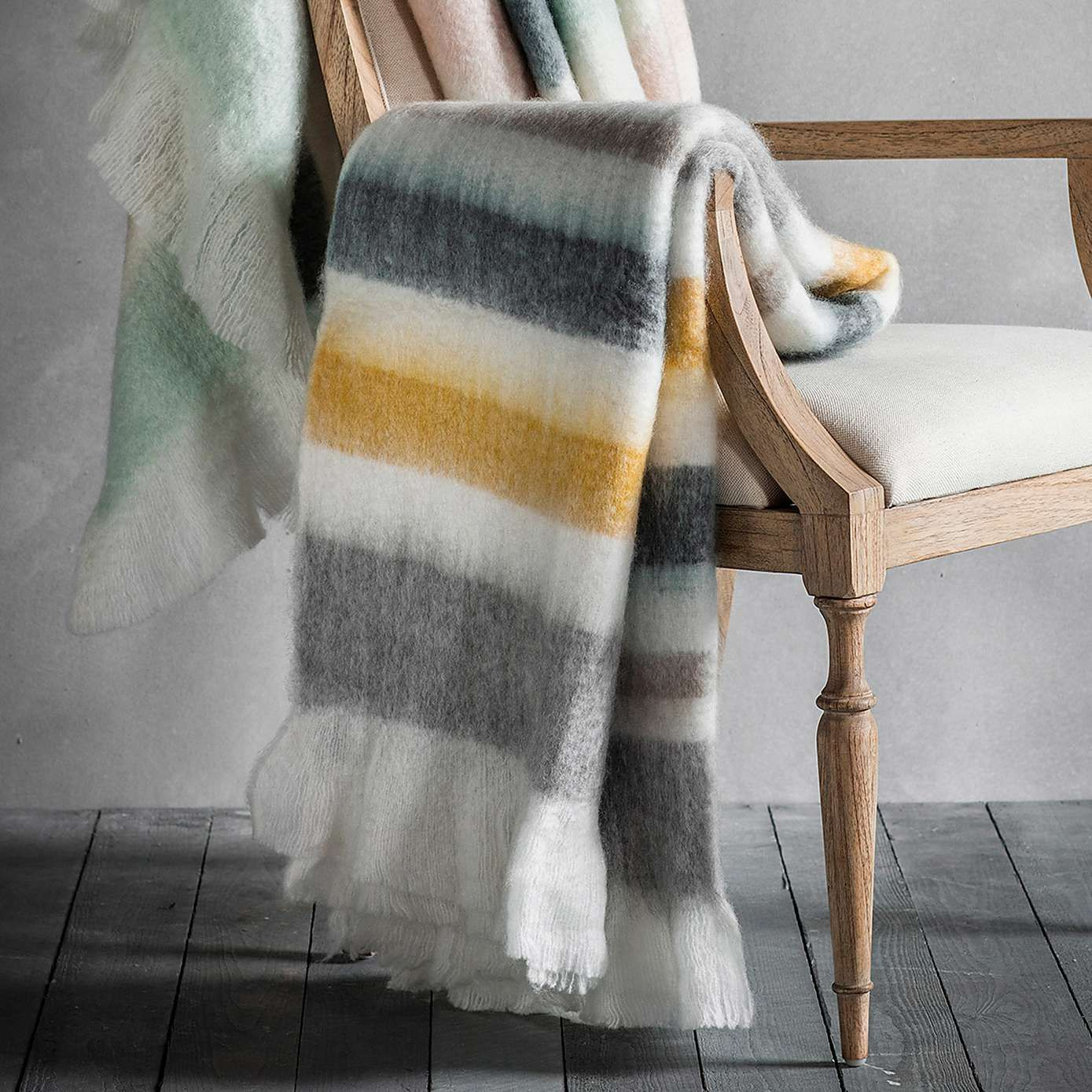 Frida Yellow Mohair Throw Dunelm Flat Pinterest