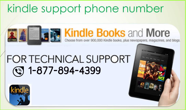 Kindle Fire Support 1 (877) 8944399 Customer Service