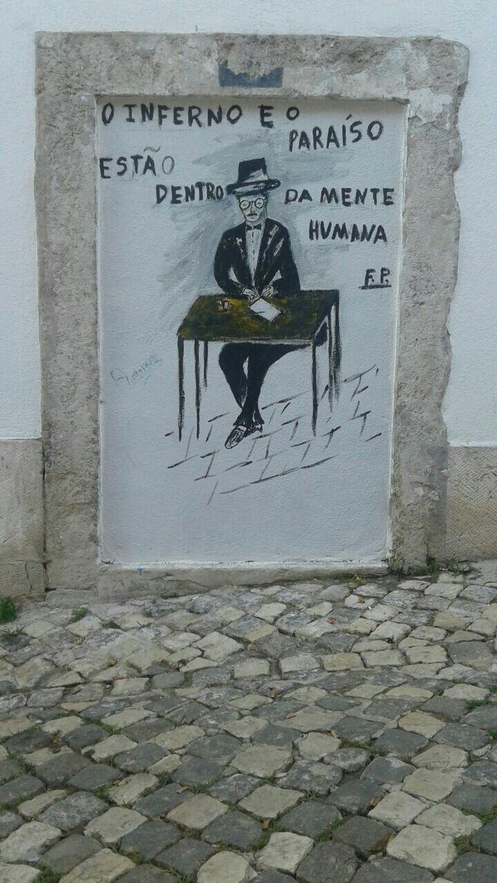 Pintura mural en Lisboa - 2017 - \