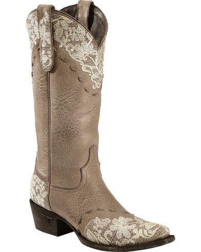 59713fc7d62 Lane Women's Jeni Lace Western Fashion Boots | Wedding Planning <3 ...