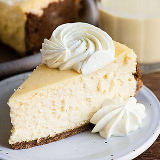 Eggnog Cheesecake Recipe #eggnogcheesecake