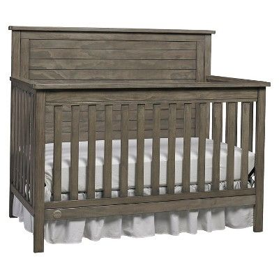 Fisher-Price Quinn 4-in-1 Convertible Crib - Gray