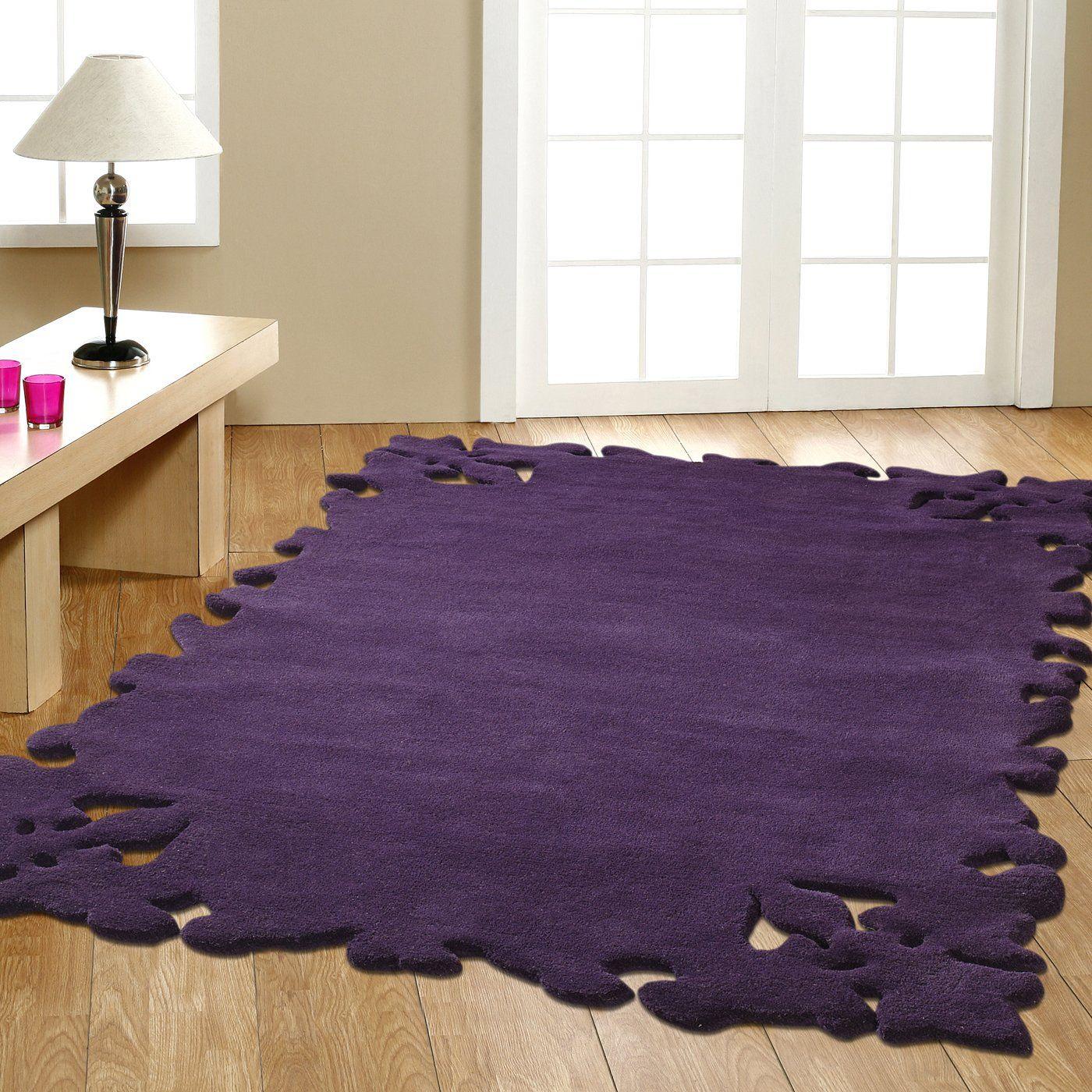Modella Purple Area Rug For My Bedroom