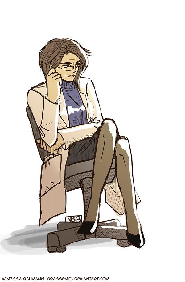 Dr. Catherine Halsey by ~DrAssenov on deviantART