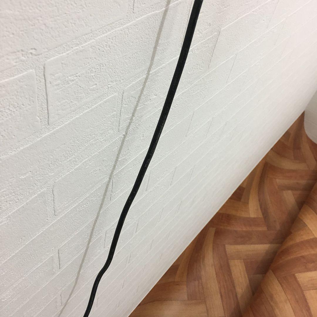 洗面所 白レンガ調の壁紙 サンゲツ Sp2145 サンゲツの Spクラス