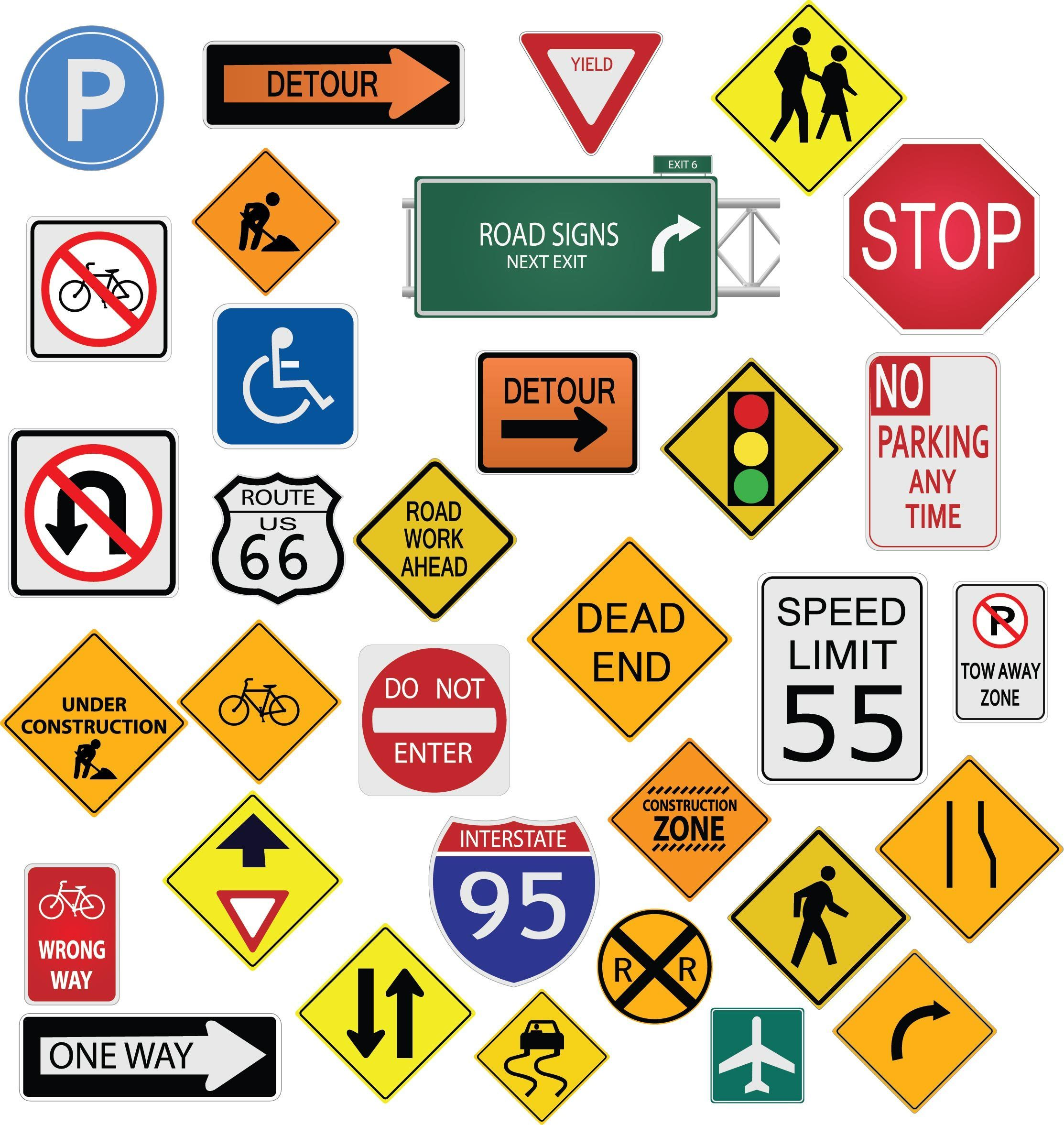 Road Signs In