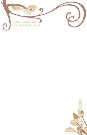 Resultado de imagem para wedding invitation frame Borda convite