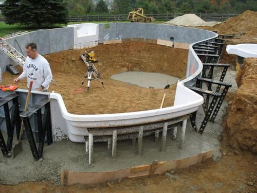 Diy inground swimming pool kits diy inground pool - Building a swimming pool yourself ...