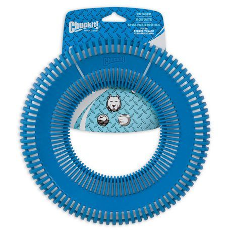 Chuck It Chuckit Rugged Flyer Large Disc Dog Toy Assorted Large