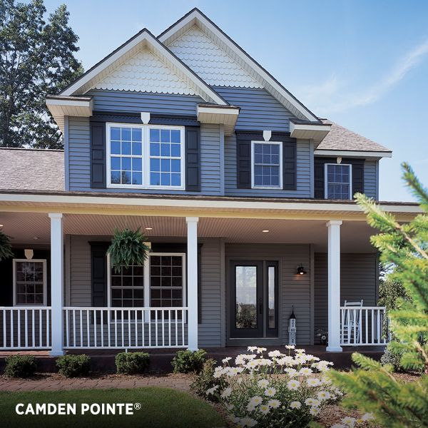 Vinyl siding exterior camden pointe from variform a for Ashton heights siding