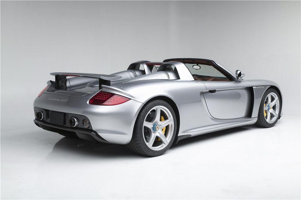 2005 Porsche Carrera Gt Rear 3 4 227226 Porsche Carrera Gt Porsche Porsche Carrera