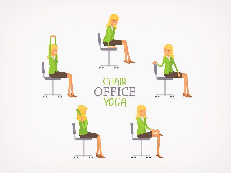Chair Yoga Poses And Benefits 5 Thru 10 Senior Fitness Chair Pose Yoga Chair Yoga