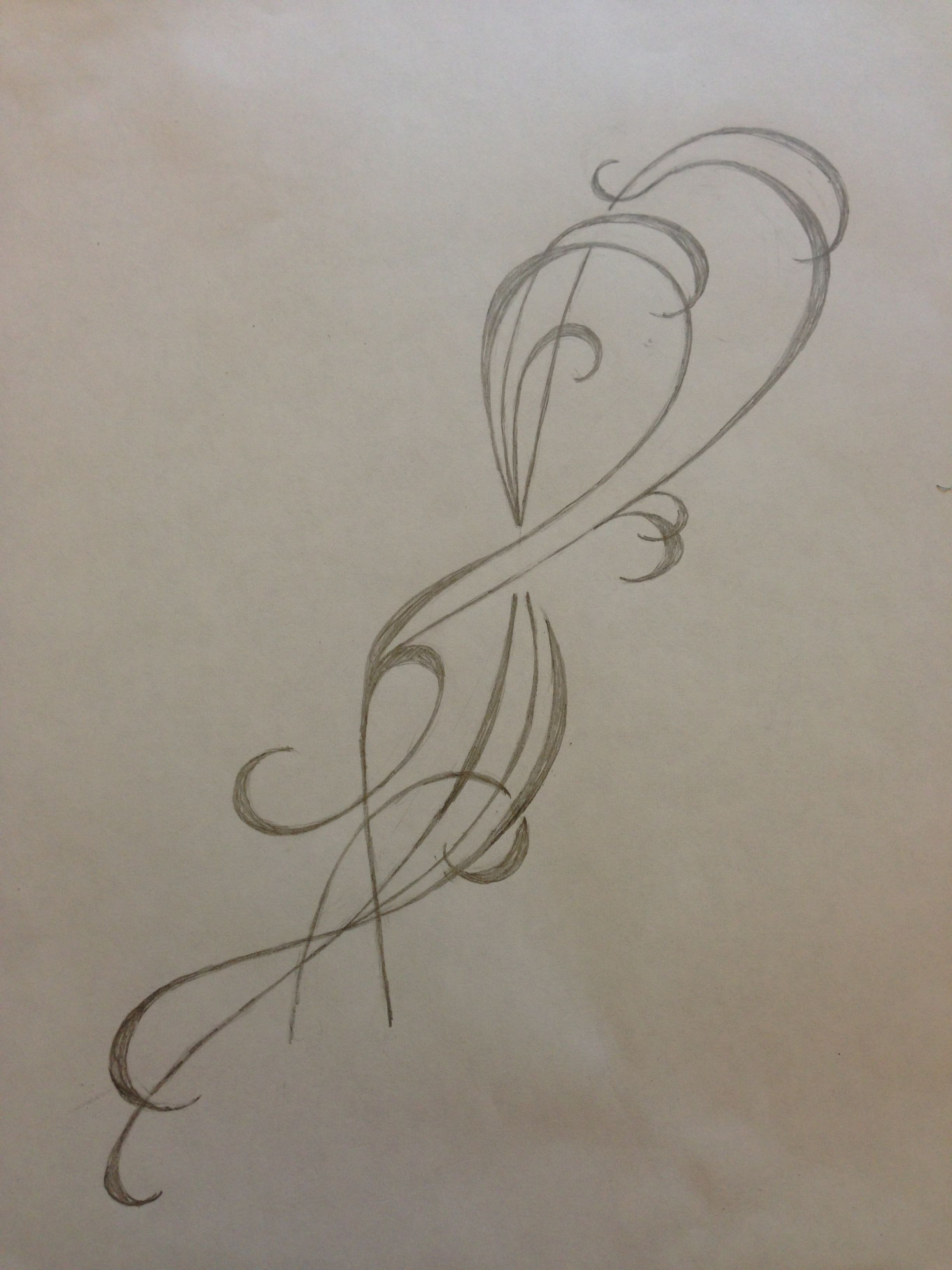 Custom tattoo sketch friendship symbol and water swirls pencil friendship symbol and water swirls buycottarizona