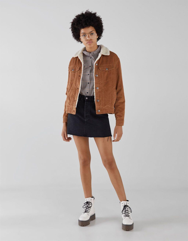 Corduroy Jacket Coats Jackets Women Black Corduroy Jacket Winter Fashion Outfits