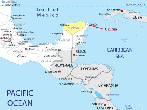printable map of mexico google search