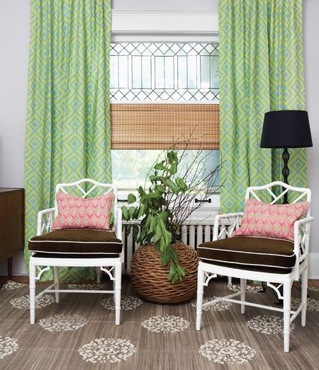 Light-filled and lovely layers. A room feels complete with window treatments. Add texture, dimension and save energy when you layer your win...
