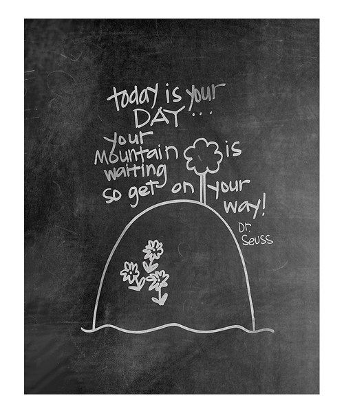 It takes all kinds of brightness to turn a home into a warm and welcoming place. Hang this illustrated print in a high-traffic area and watch as the smiles increase exponentially. Made to mimic chalkboard art, it'll provide a daily dose of inspiration and then some! Available in multiple sizesOpaque art paper / inkMade i...