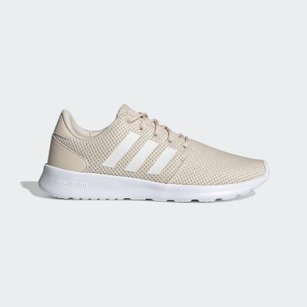 adidas Cloudfoam QT Racer Shoes - Beige