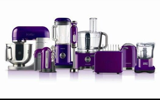 966894B59C40E306220340D50C092565 525×328 Pixels  Stuff To Buy Amazing Purple Kitchen Appliances 2018