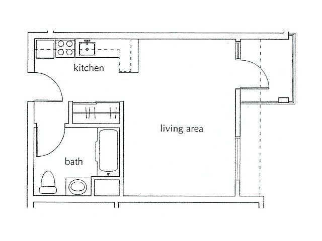 San Lucas Brochure Studio Floor Plans Floor Plans Studio Apartment Layout